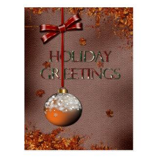Holiday Greetings Postcards