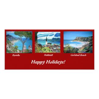 Holiday Greetings Rack Card