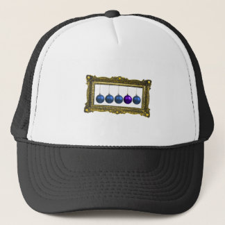 holiday greetings trucker hat