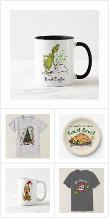 Holiday Grinch Collection