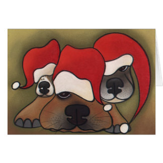 Holiday Hangover by Robyn Feeley Card
