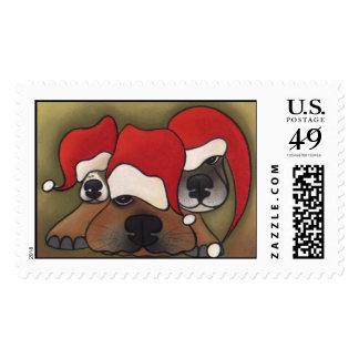 Holiday Hangover Postage Stamp