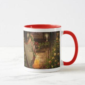 Holiday Harp Mug
