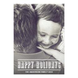 HOLIDAY HEADLINE | HOLIDAY PHOTO CARD