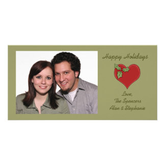 Holiday Heart Photo Cards