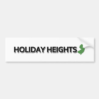Holiday Heights, New Jersey Bumper Sticker