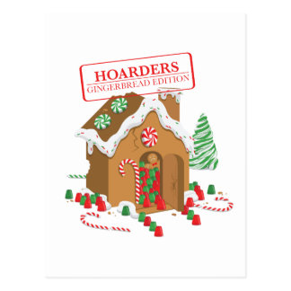 Holiday Hoarders Postcard