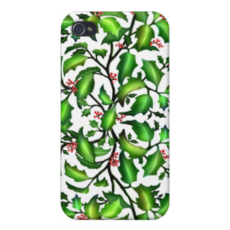 Holiday Holly Berries Speck Case iPhone 4/4S Cover