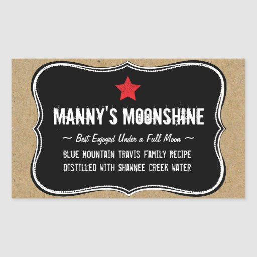 moonshine label template - photo #7