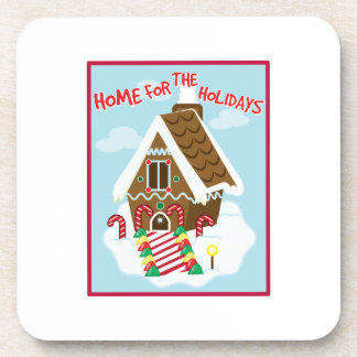 Holiday Home Drink Coaster