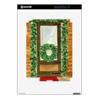 Holiday Home Decals For iPad 2