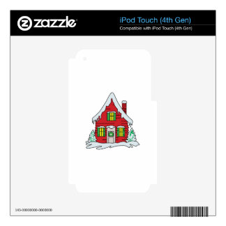 HOLIDAY HOME iPod TOUCH 4G SKINS