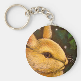 HOLIDAY HONEY BUNNY RABBIT - MISTLETOE ZAZ KEYCHAIN