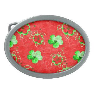 Holiday Honu Turtles Belt Buckle
