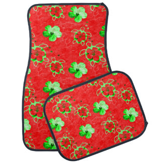 Holiday Honu Turtles Car Floor Mat