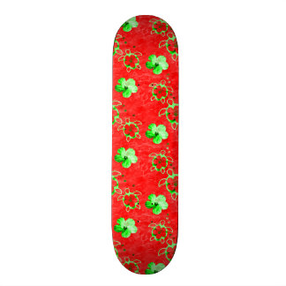 Holiday Honu Turtles Skateboard Deck