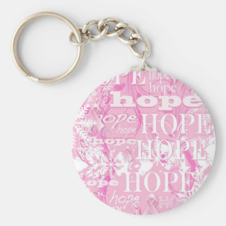 Holiday Hope Breast Cancer Awareness Products Keychain