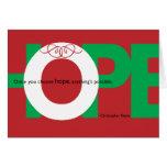 Holiday HOPE card