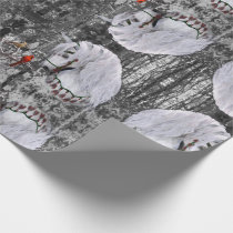Holiday Horse & Cardinals Wrapping Pap Wrapping Paper