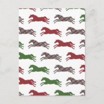 Holiday Horse Foal with Blanket Christmas