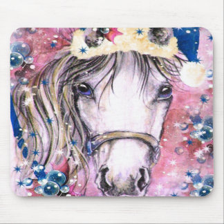 Holiday Horse Pink Design Mousepads