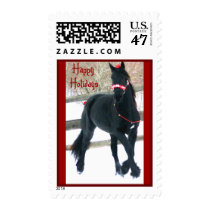 Holiday Horse Postage Stamps