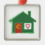 Holiday House Christmas Tree Ornament