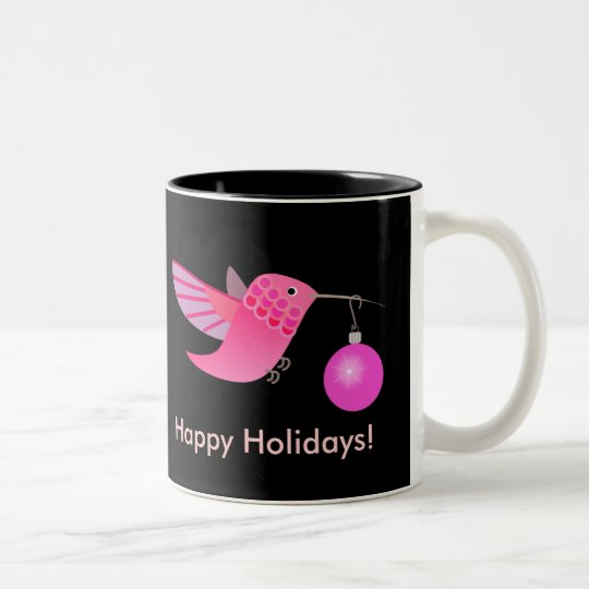 Holiday Hummingbird Mug