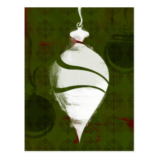 Holiday Icon - Holiday Ornament Postcard