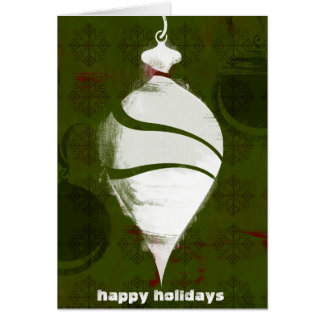 Holiday Icon - Vintage Ornament Card