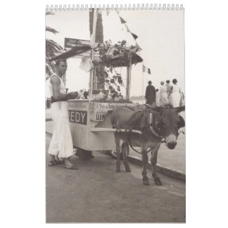 Holiday in Cannes, 1936 black and white photos Calendar