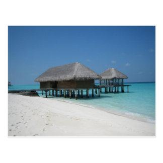 Holiday in Maldives Postcard