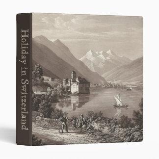 Holiday in Switzerland Chillon Castle Photo Album Binder