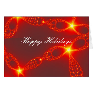 Holiday Jewels Fractal Card