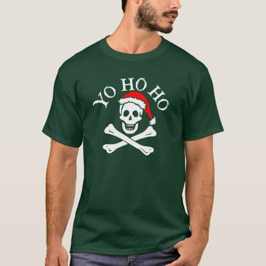 Holiday Jolly Roger Men's Shirt (Style 2)