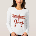 Holiday Joy Dragonfly T-Shirt