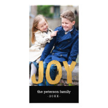Holiday Joy Holiday Photo Card