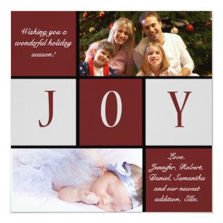 Holiday Joy Invitation