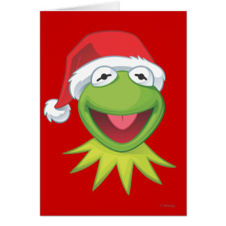 Holiday Kermit 2 Card