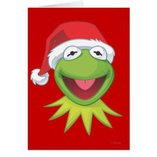 Holiday Kermit 2 Card