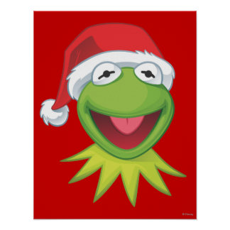 Holiday Kermit 2 Poster