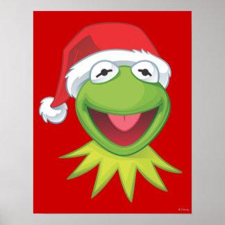 Holiday Kermit 2 Print