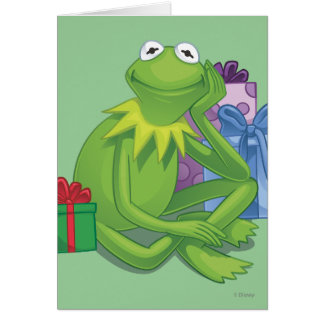Muppets christmas greeting cards zazzle holiday kermit 3 card m4hsunfo