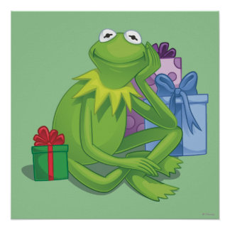 Holiday Kermit 3 Poster