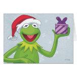 Holiday Kermit Greeting Card