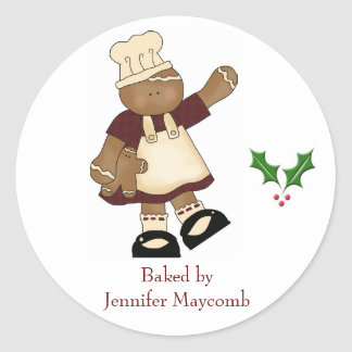 Holiday kitchen stickers