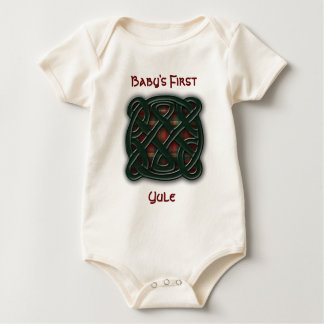 Holiday Knot Baby Bodysuit