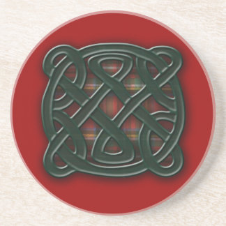 Holiday Knot Sandstone Coaster