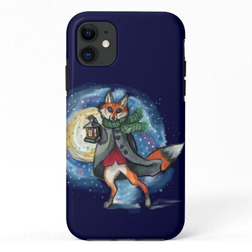 Holiday Lantern Fox~iphone case