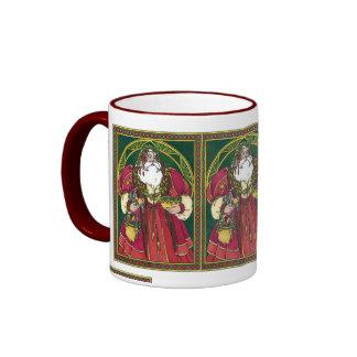 Holiday Latte Ringer Mug